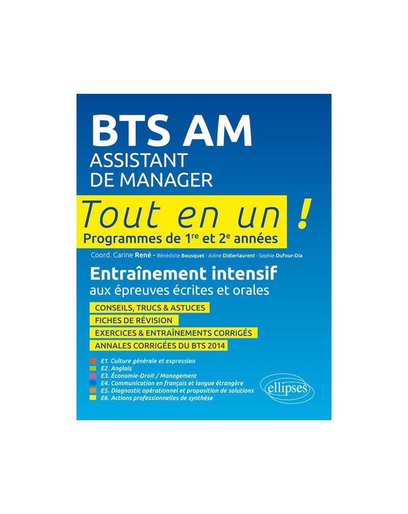 BTS AM (Assistant de Manager) - Tout en 1
