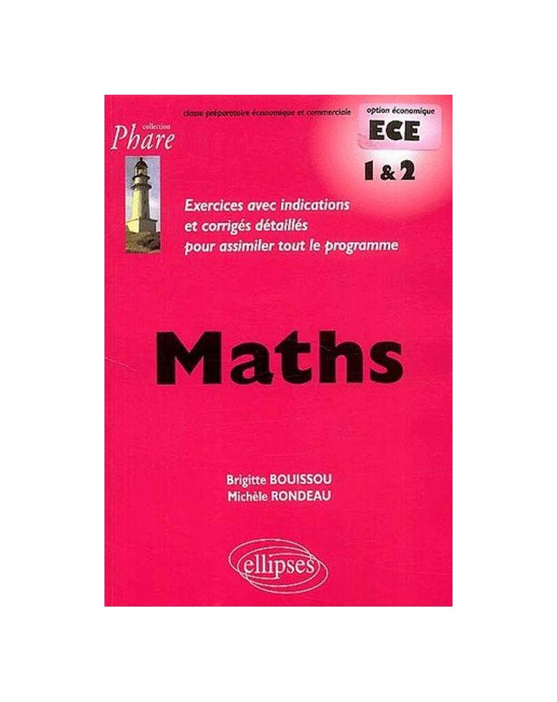 Mathématiques ECE - 1re année et 2e année