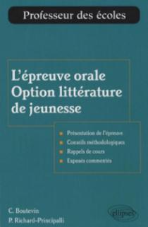 L'épreuve orale, option littérature de jeunesse