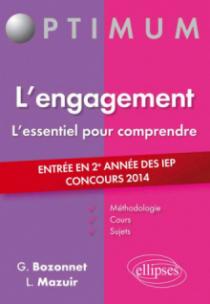 L'engagement - entrée en 2e année des IEP - concours 2014