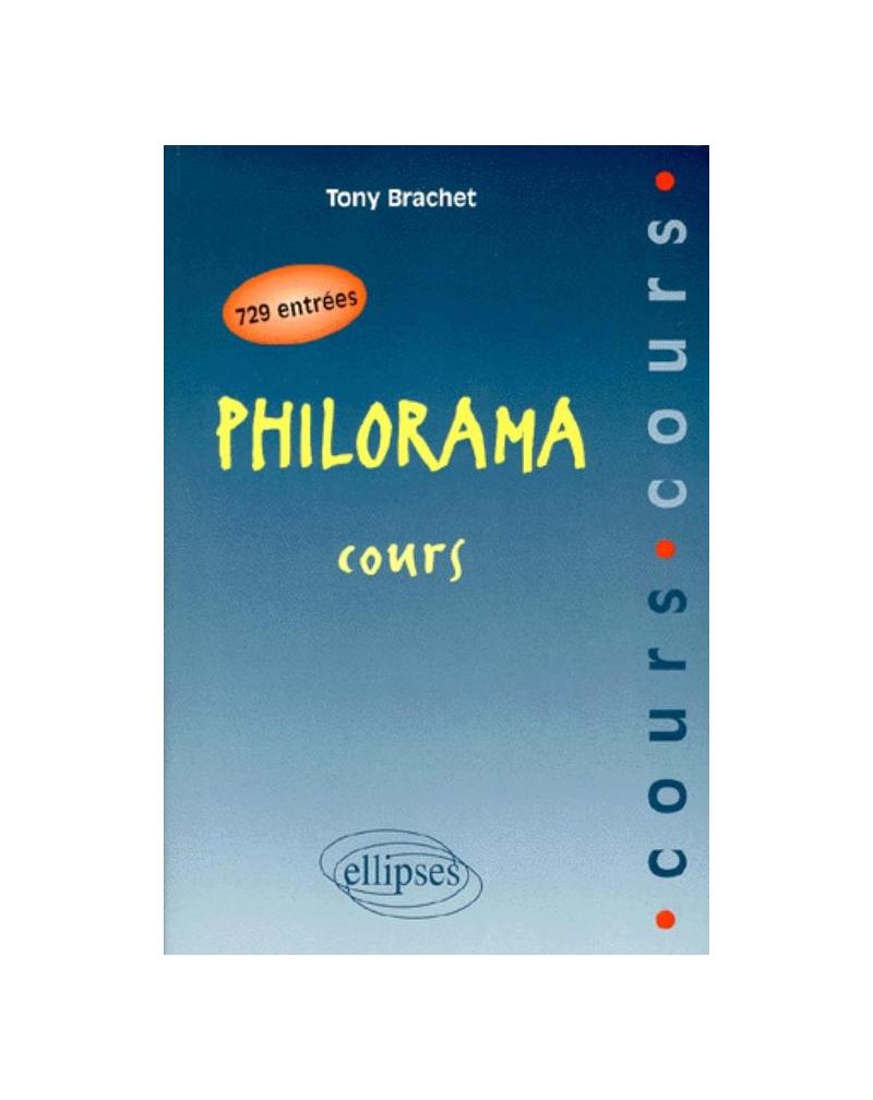 Philorama - Cours