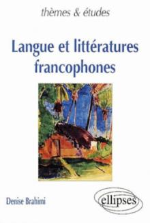 Langue et littératures francophones