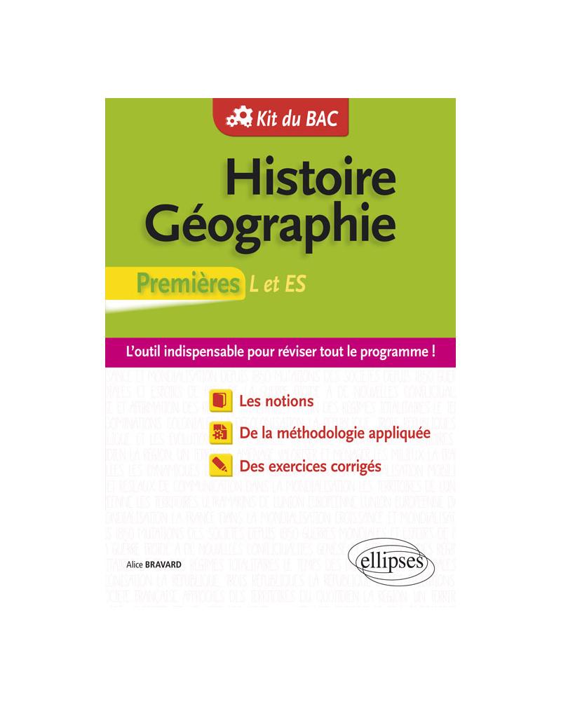 Histoire-Géographie - Premières L et ES