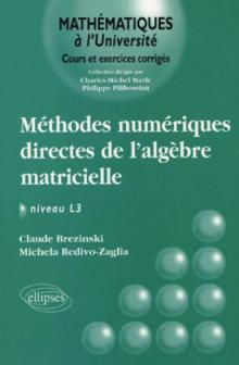 Méthodes numériques directes de l'algèbre matricielle Niveau L3