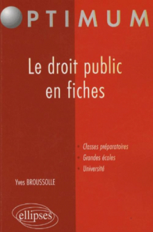 Le droit public en fiches