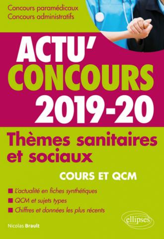 Thèmes sanitaires et sociaux - concours 2019-2020