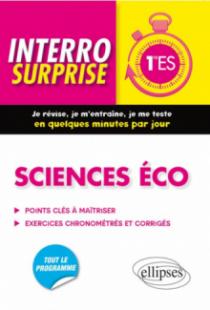 Sciences éco - Première ES