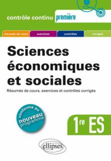 Sciences économiques et sociales - Première ES - Nouveau programme