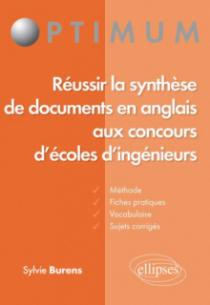 Réussir la synthèse de documents en anglais aux concours d'écoles d'ingénieur