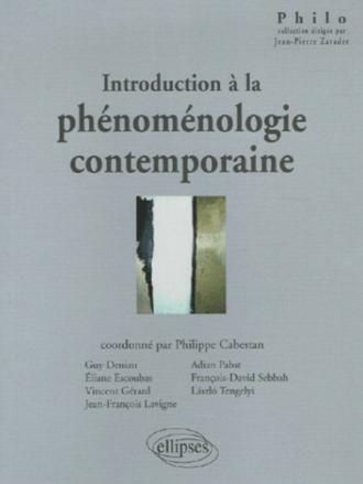 Introduction à la phénoménologie contemporaine