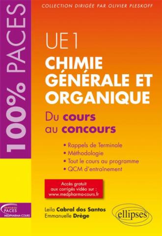 UE1 - Chimie générale et organique. Du cours au concours