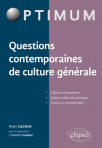 Questions contemporaines de culture générale