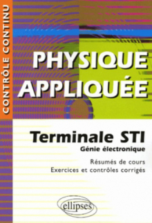 Physique Appliquee Terminale Sti Genie Electronique