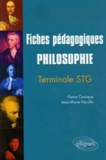 Fiches pédagogiques Philosophie - Terminale STG