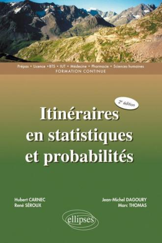 Itinéraires en statistiques et probabilités - 2e édition