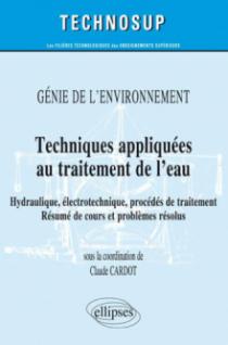Techniques appliquées au traitement de l'eau - Génie de l'environnement