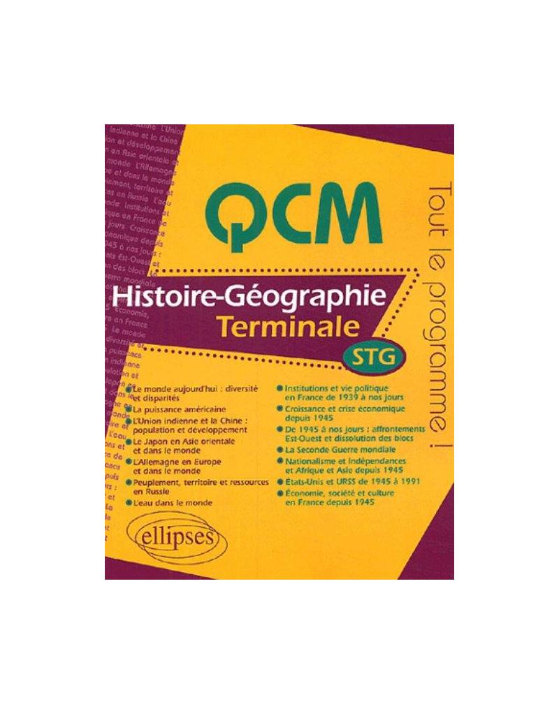 Histoire-Géographie - Terminale STG