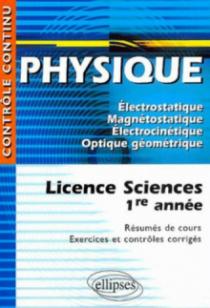 Physique - Licence sciences 1re année