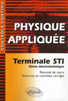 Physique Appliquee Terminale Sti Genie Electrotechnique