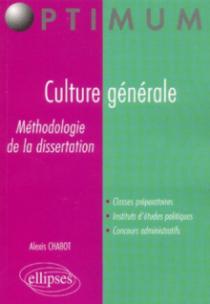 Culture générale - Méthodologie de la dissertation