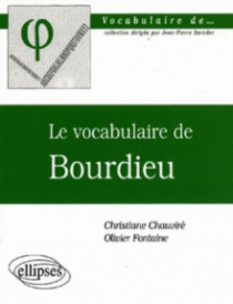 Le vocabulaire de Bourdieu
