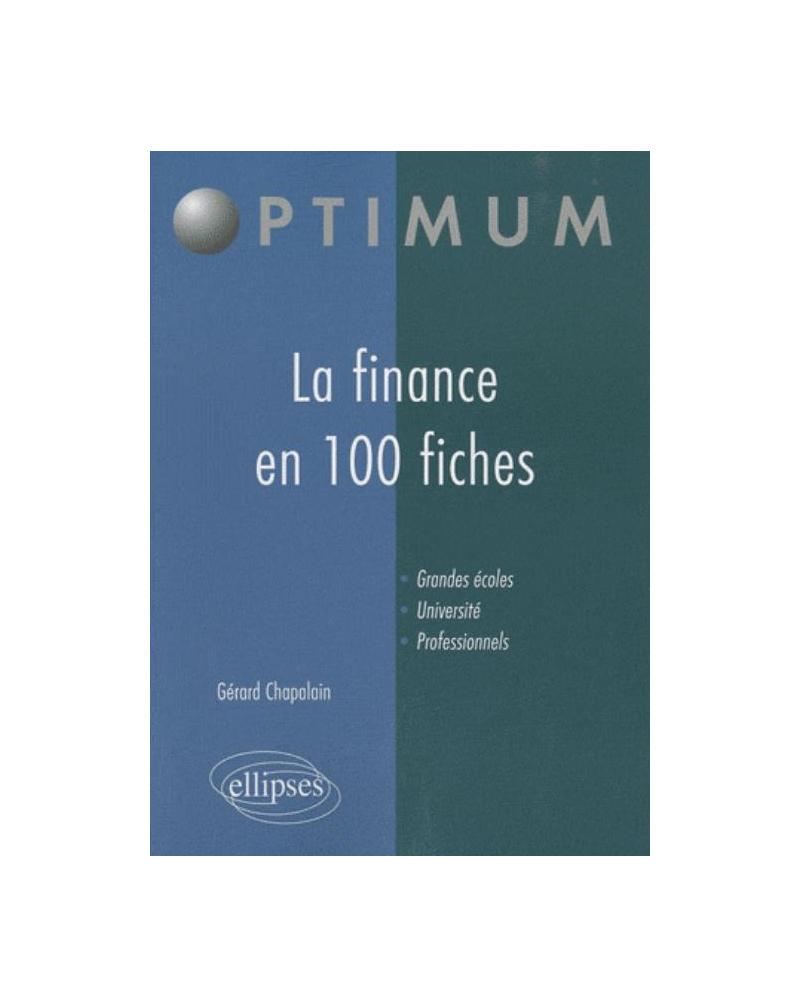 La finance en 100 fiches
