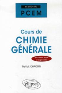 Cours de chimie générale, 3e édition revue et augmentée