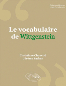 Le vocabulaire de Wittgenstein