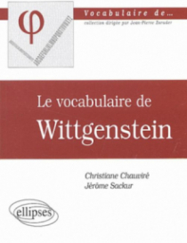 vocabulaire de Wittgenstein (Le)