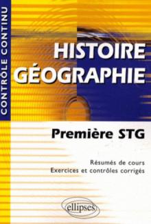 Histoire-Géographie - Première STG