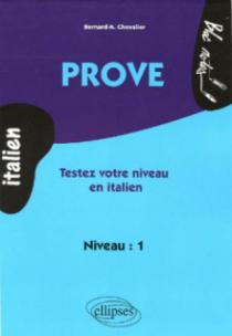 Prove - Testez votre niveau en  italien  (niveau 1)