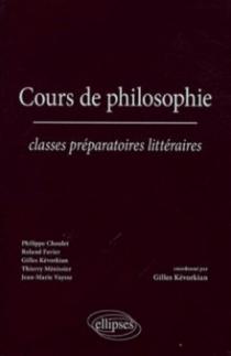 Cours de philosophie - Classes préparatoires littéraires