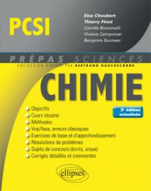 Chimie PCSI - 3e édition actualisée