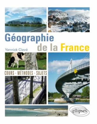 Géographie de la France - cours, méthode, sujets