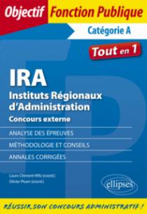 IRA Instituts Régionaux d'Administration Concours externe.