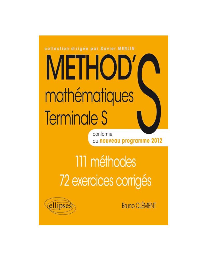 Mathématiques - Terminale S enseignement obligatoire et de spécialité conforme au nouveau programme 2012