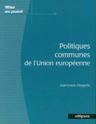 Politiques communes de l'Union européenne