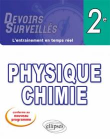 Physique-chimie seconde - nouveau programme
