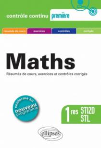 Mathématiques Premières STI2D et STL - conforme au nouveau programme 2011