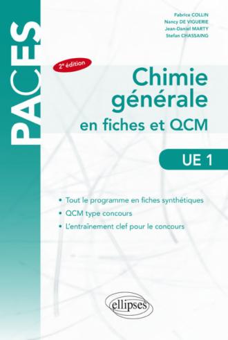 UE1 - Chimie générale en fiches et QCM – 2e édition