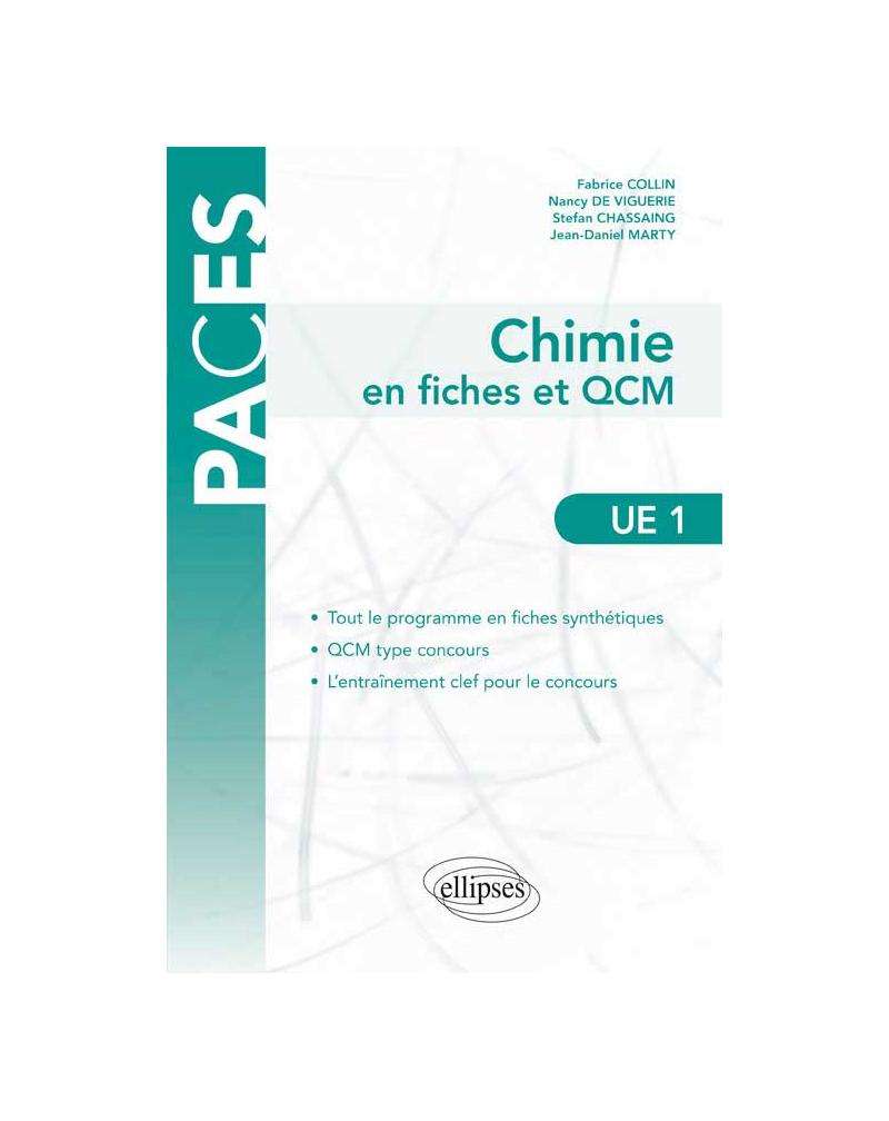 UE1 - Chimie générale en fiches et QCM