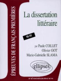 Épreuves anticipées de français - 3e sujet - La dissertation littéraire