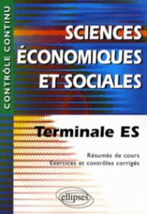 Sciences économiques et sociales -Terminale ES