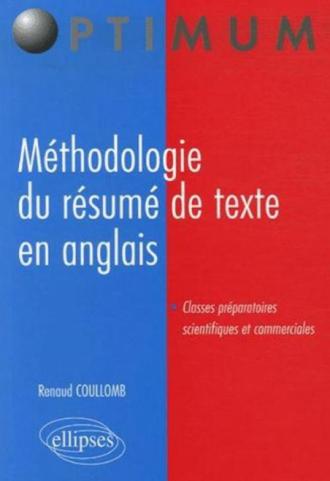Méthodologie du résumé de texte en anglais