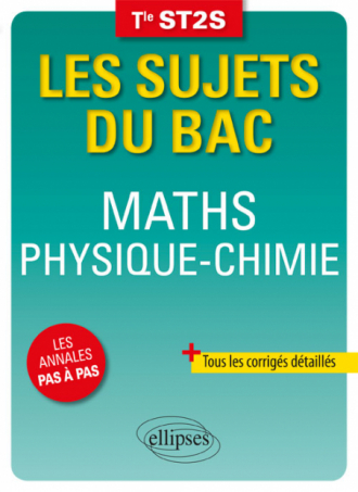 Maths Physique-Chimie Terminale ST2S