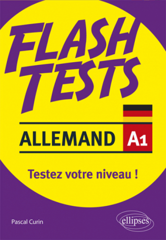 Allemand. Flash Tests. A1. Testez votre niveau d'allemand !