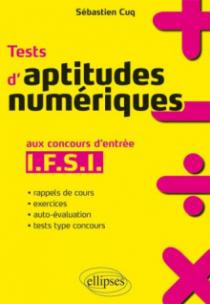 Tests d'aptitudes numériques aux concours d'entrée IFSI