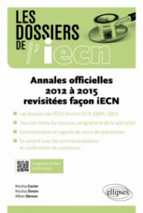 Annales officielles 2012 à 2015 revisitées facon iECN