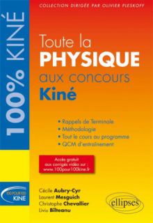 Toute la Physique-Chimie aux concours Kiné