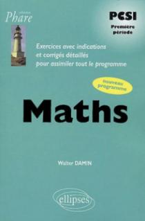 Mathématiques PCSI - Exercices corrigés - 1re période